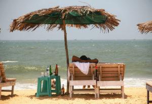 Отдых зимой на море в Индии ( Гоа)