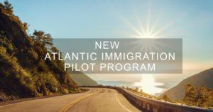 Atlantic Immigration Pilot Program стартовала в 2017 году, пока что в пилотном формате, и в её рамках предполагается принять 2000 человек, но затем, если всё пойдёт по плану, число принимаемых по ней иммигрантов вырастет