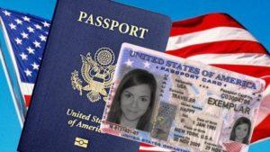 документах удостоверяющих личность в США.