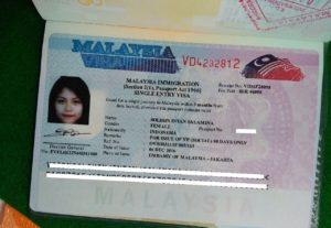 Малайзии виза
