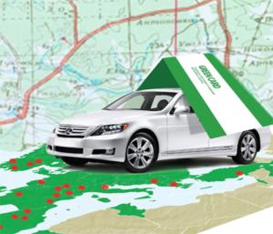 Оформить зеленую карту