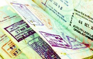 отметка о посещении Кубы