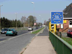 пересечения границ Шенгена