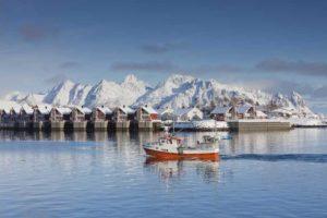 Природные богатства позволили Норвегии