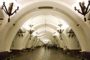 Ближайшее метро от Малой Молчановки станция «Арбатская», до которой идти всего 750 метров