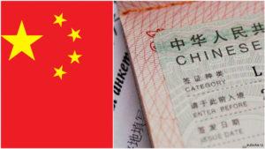 Стоимость визы в Китай