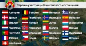 Страны Шенгена_