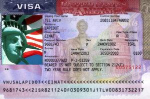 В США существует несколько типов виз