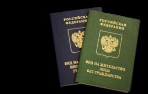 вид на жительство в Российской Федерации