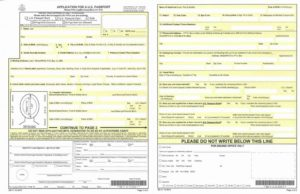 Заявление на паспорт США