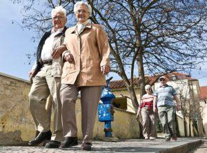 жители Германии пенсионер