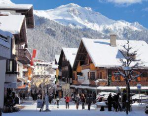 Отдых зимой в Германии
