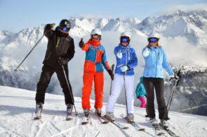 Горные лыжи в декабре