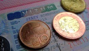 оформления Чешской визы