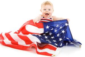 ребенок, рожденный на территории США