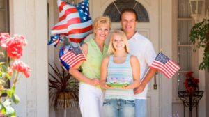 Родственники в США