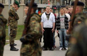 в армии в Германии