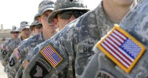 службу в рядах американской армии