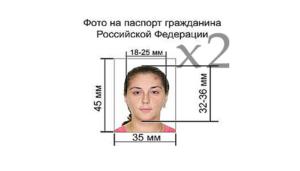 Размеры и требования к фотографиям на российский паспорт нового образца