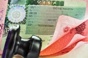 выдачи шенгенской визы